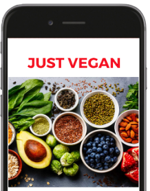 Just Vegan on your mobile!